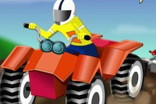 Jeu Mud bike racing