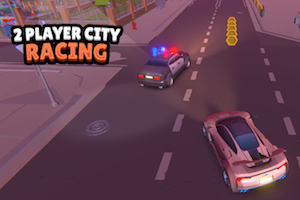 Jeu 2 player city racing