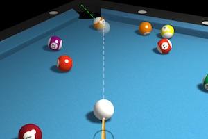 Jeu 3d billiard 8 ball pool