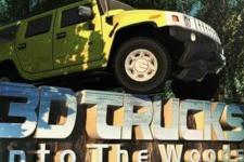 Camion 3D dans la foret