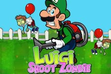 Luigi shoot les zombies
