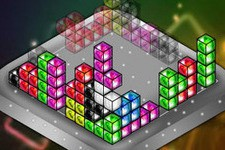 Jeu Tetris cuboid 3d