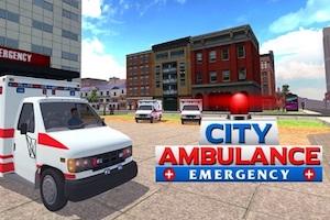 Jeu Ambulance rescue simulator
