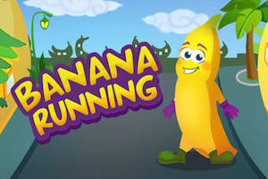Jeu Banana running