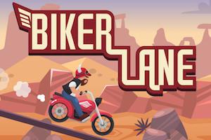 Jeu Biker lane