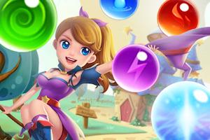 Jeu Bubble witch shooter magical saga