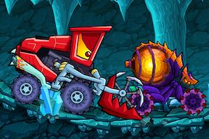Jeu Car eats car dungeon adventure