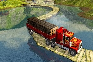 Cargo heavy trailer transport