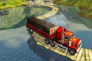 Jeu Cargo heavy trailer transport