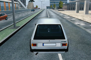 Jeu City car simulator
