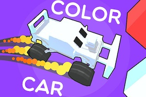 Jeu Color car