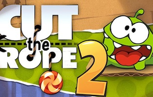 Jeu Cut the rope 2