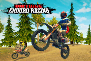 Jeu Dirt bike enduro racing