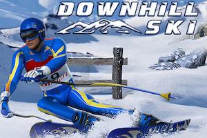 Jeu Downhill ski