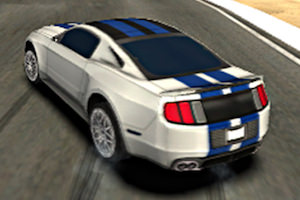 Drift car driving