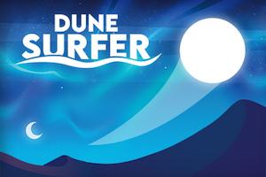 Jeu Dune surfer