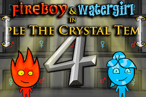 Jeu Fireboy and Watergirl 4 Crystal temple