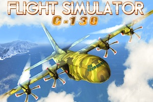 Jeu Flight simulator C130 training