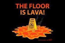 Jeu Floor is lava