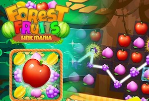 Jeu Fruit link splash match 3 mania