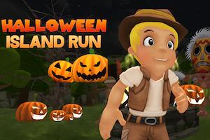 Jeu Halloween island running