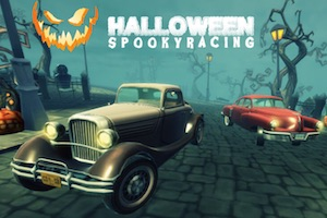 Hallowen spooky racing