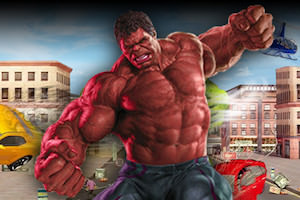 Hulk monster city