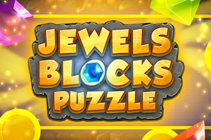 Jeu Jewels blocks puzzle