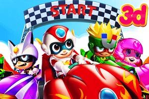 Jeu Kart race 3d