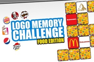 Jeu Logo memory food edition