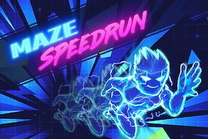 Maze speed run