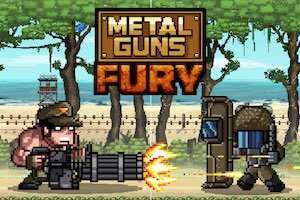 Jeu Metal Guns Fury beat em up
