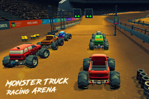 Jeu Monster truck racing arena