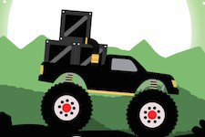 Jeu Monster truck forest delivery