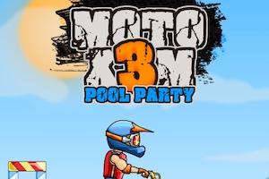 Jeu Moto X3M Pool party
