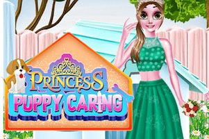 Jeu Princess puppy caring