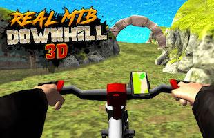 Jeu Real mtb downhill 3d