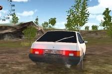 Russian car driver