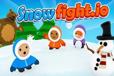 Jeu Snow fight io