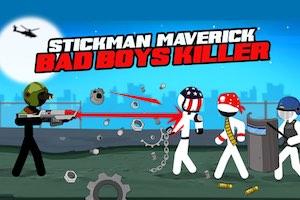 Jeu Stickman maverick bad boys killer