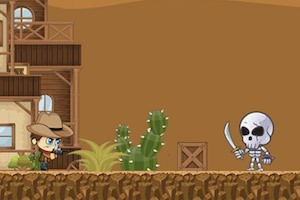 Jeu Super cowboy run