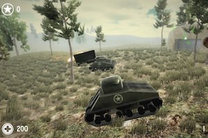 Jeu War of tank