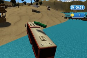 Jeu Water Bus Island Simulator